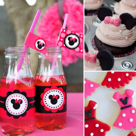 party themes minnie mouse minnie mouse birthday party ideas popsugar moms