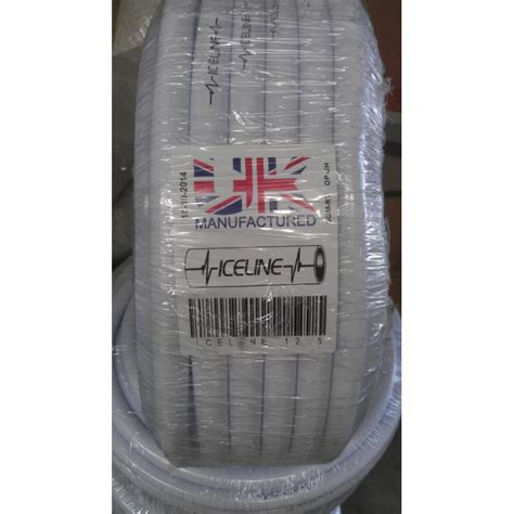 Sunstate Plumbing by 19mm Panda Hose White Soft Poly 10m Roll