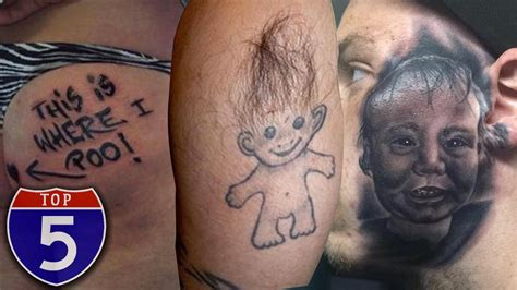 painful tattoo areas top 5 most places to get tattoos