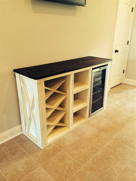 cabinet mount wine cooler buffet with wine rack and storage for wine cooler for