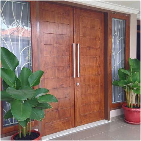 Pintu Rumah Kusen Rumah 52 desain model pintu utama rumah minimalis terbaru