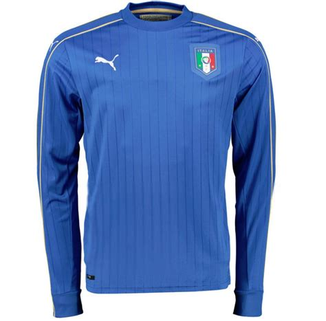 Polo Shirt Italia 2016 Official 2016 2017 italy home sleeve football shirt