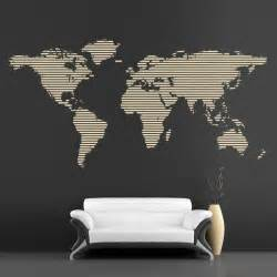 cool wall sticker cool wall stickers continents map by artollo