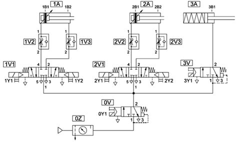 pneumatic circuit diagram plc sensor wiring diagram get free image about wiring