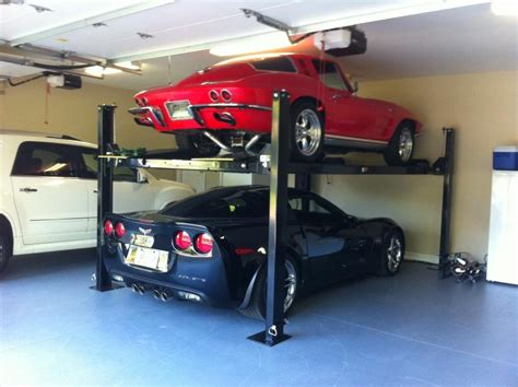 ceiling height for car lift ceiling height w 4 post lift corvetteforum chevrolet corvette forum discussion