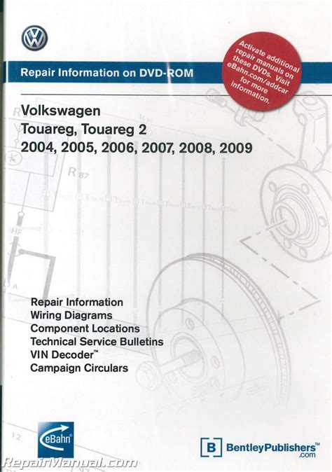 how to download repair manuals 2012 volkswagen touareg seat position control volkswagen touareg 2004 2009 repair manual on dvd rom