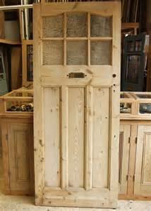 Pine Front Doors Reclaimed Pine Edwardian Front Door Stained Glass Doors Company