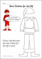 Elves and the shoemaker on pinterest the elf worksheets and elves