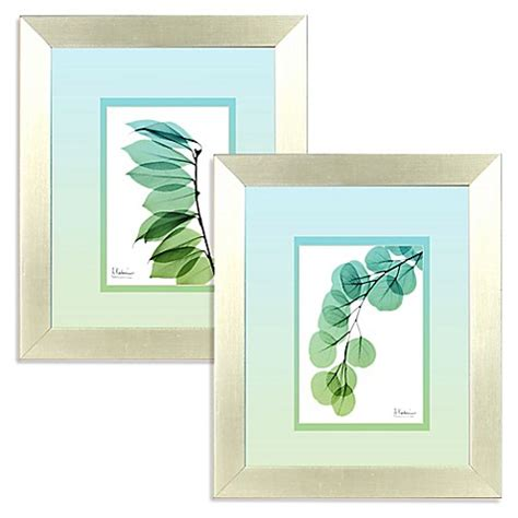 bed bath beyond wall decor ombre xray teal framed wall art bed bath beyond