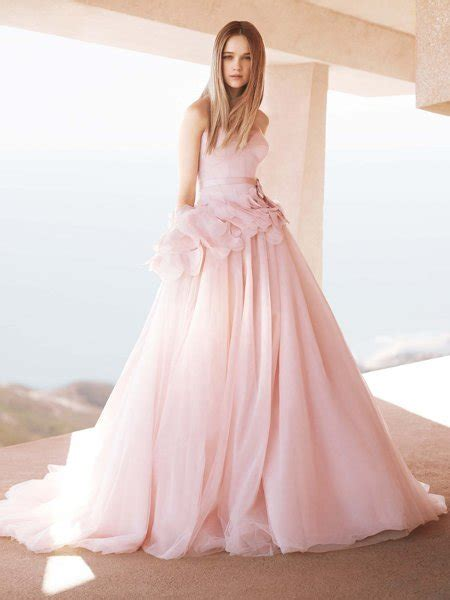 Pink Wedding Dress by Pink Wedding Dresses Wedding Decoration Ideas