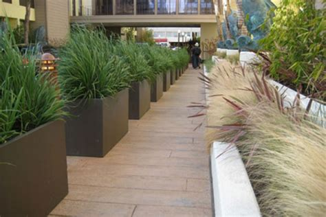 Commercial Outdoor Planters by Design Ideas For Large Commercial Planters Iota Designer