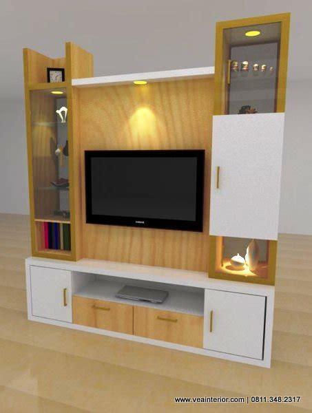 Rak Tv Partisi design interior furniture minimalis hotel ruko perumahan