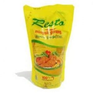 Minyak Goreng Resto 1 Liter jual minyak goreng resto harga murah kota tangerang oleh pt khalifa global indonesia