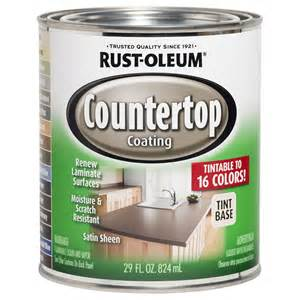 shop rust oleum specialty light base satin countertop