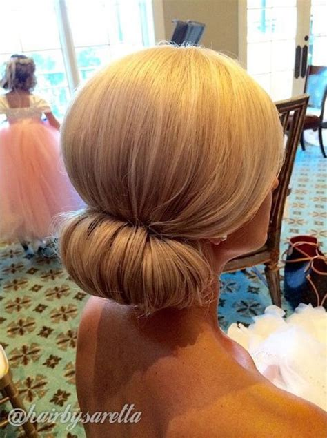 Wedding Hair Up In A Bun by 40 Chic Chignon Buns That Bring The Class Into Formal And