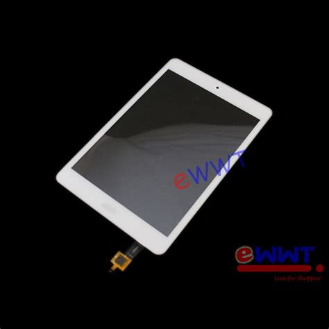 Touchscreen Tab Acer A1 830 Original for acer iconia tab a1 830 white touch screen digitizer repair part unit zvlt826 ebay