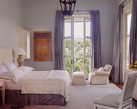 lavender walls bedroom purple in the master bedroom traditional bedroom by