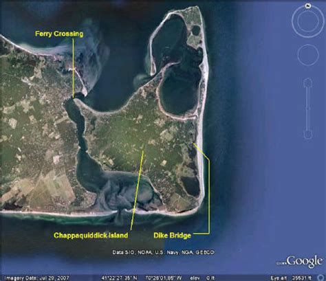 Map Of Chappaquiddick 301 Moved Permanently