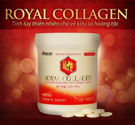 Royal Collagen vi 234 n uống tri n 225 m dạng vi 234 n nhai royal collagen