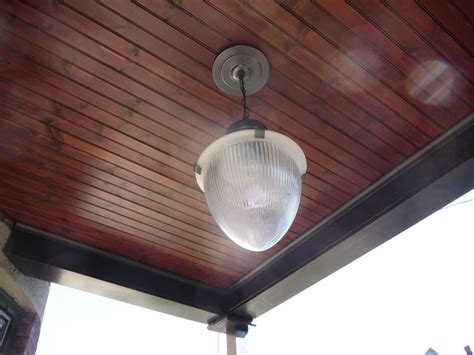 Stained Porch Ceiling by Stained Front Porch Ceiling House New Style