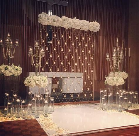 The 25  best Wedding stage backdrop ideas on Pinterest