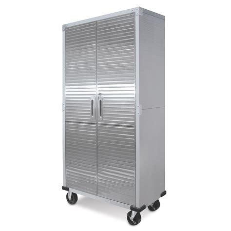 stainless steel rolling cabinet metal rolling garage tool file storage cabinet shelving