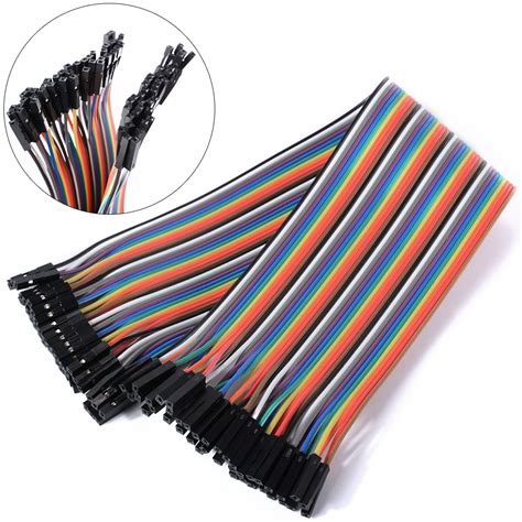 Best Quality Kabel Dupont Famale To 20cm dupont draht kabel linie wire jumper breadboard arduino te461 ebay