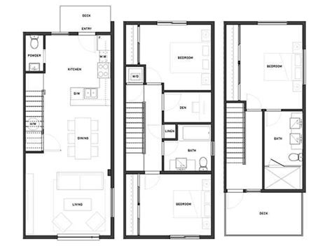 urban townhouse floor plans 1000 images about floor plans urban rows on pinterest