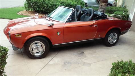 fiat spider 1978 1978 fiat 124 spider convertible for sale