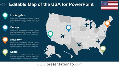 us powerpoint maps united states map
