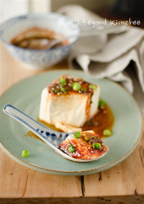 silken tofu with soy sauce and chili oil recipes dishmaps