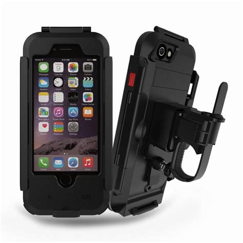 waterproof motorcycle phone holder phone stand support  iphone     bicycle gps holder