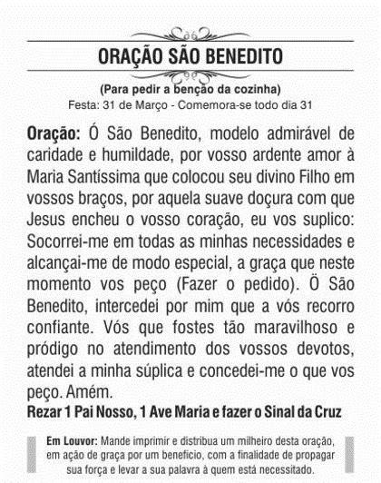 Santinho De São Benedito - Milheiro De Promessa E Oração