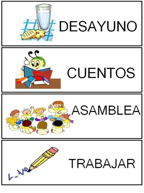 imagenes rutinas escolares rutinas rinc 243 n de infantil