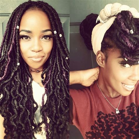 can i use human hair for faux locs 17 best images about natural hair on pinterest box