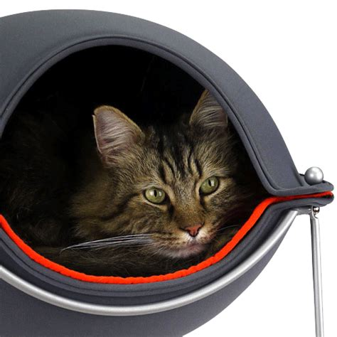 cat pods hepper cat bed buy a modern cat bed that your pet will love