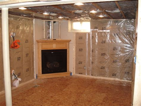 how to install basement ceiling insulation