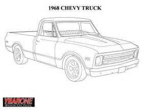 chevy truck coloring pictures