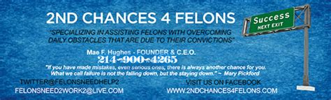 Apartments In For Felons 2nd Chances 4 Felons 2c4f