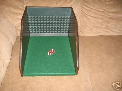 Portable Craps Table Dice Control Shooting Station Portable Craps Table