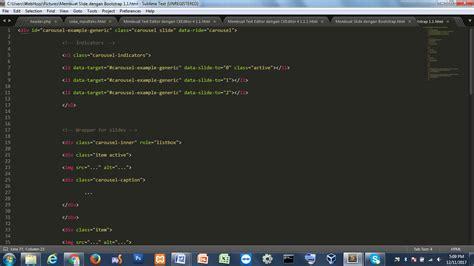 membuat wordpress theme dengan bootstrap membuat slide dengan bootstrap webhozz blog