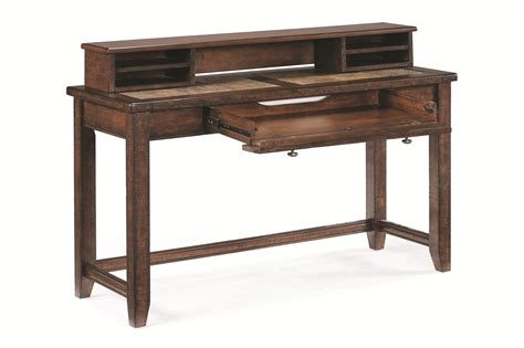 sofa table desk by magnussen home wolf and gardiner wolf