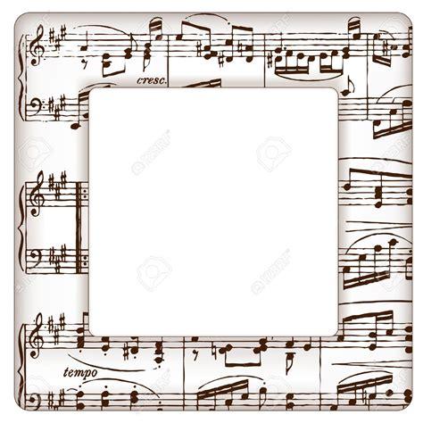 imagenes con motivos musicales marcos con notas musicales im 225 genes de archivo vectores