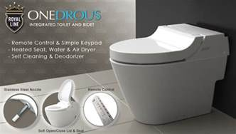 in toilet bidet integrated toilet bidet royal line