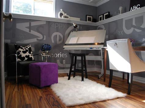 creative home office creative and inspirational home offices hgtv