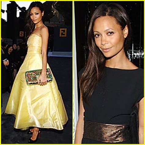 More Pics From Karl Lagerfelds Minogue Thandie Newton And Co by Thandie Newton Great Wall Of China Thandie Newton