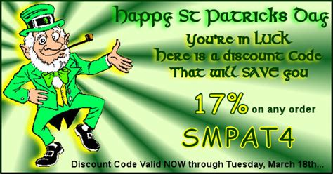 st patricks day freebies 2014 coupon codes sales couponcode archives blog of wally d