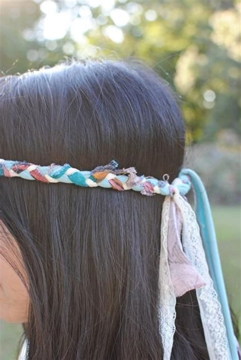 diy hippie hairstyles braided headbands diy and crafts and hippie style on