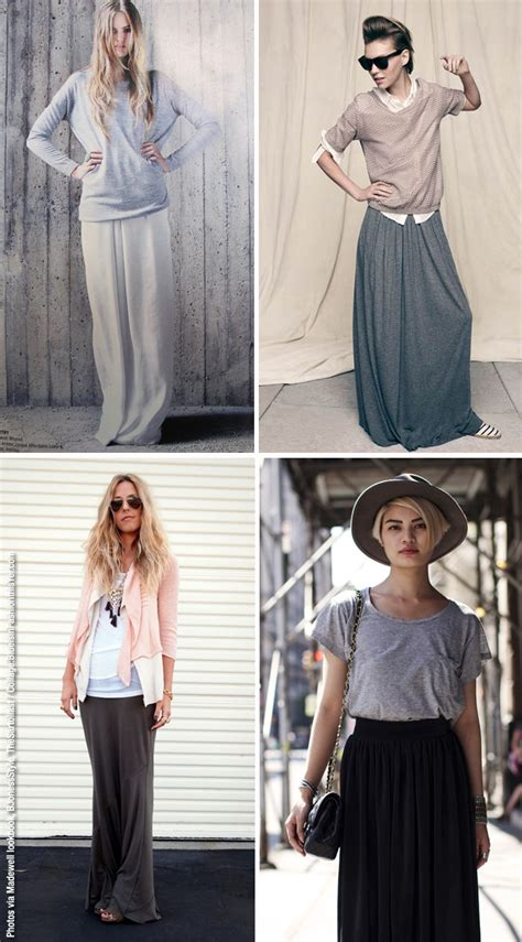 what to wear with maxi skirtsjpg brown hairs