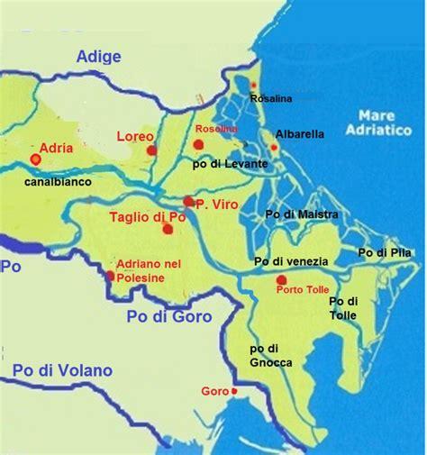 po river map po river